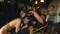 Stripped and Humiliated in front of a shocked and horny crowd!