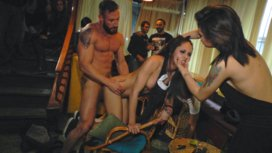 Perky-Carolina-Abril-is-Ravaged-and-Shamed-in-Crowded-Bar