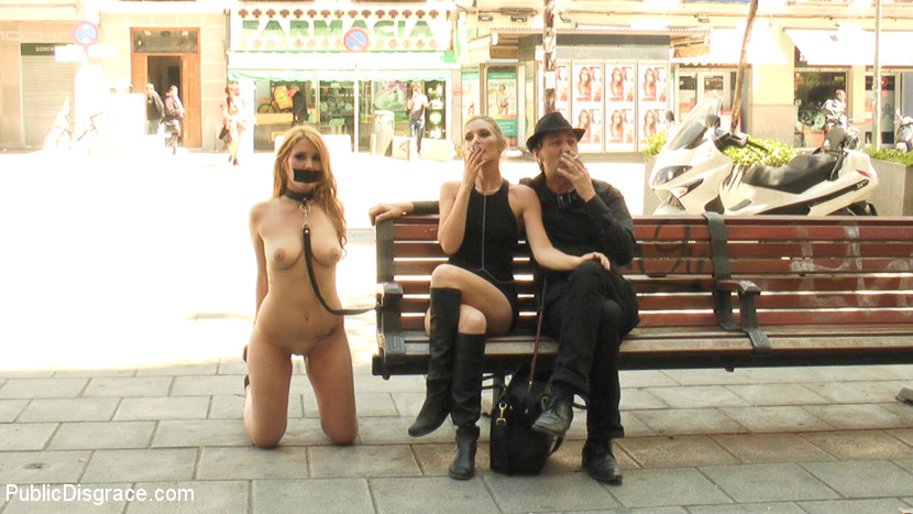 sex submission public disgrace femdom