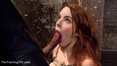 Spanish Slave Girl Amarna Miller is tested, spread open pussy for hard fucking, hard face fucking, tied up ass, brutal doggie pussy pounding
