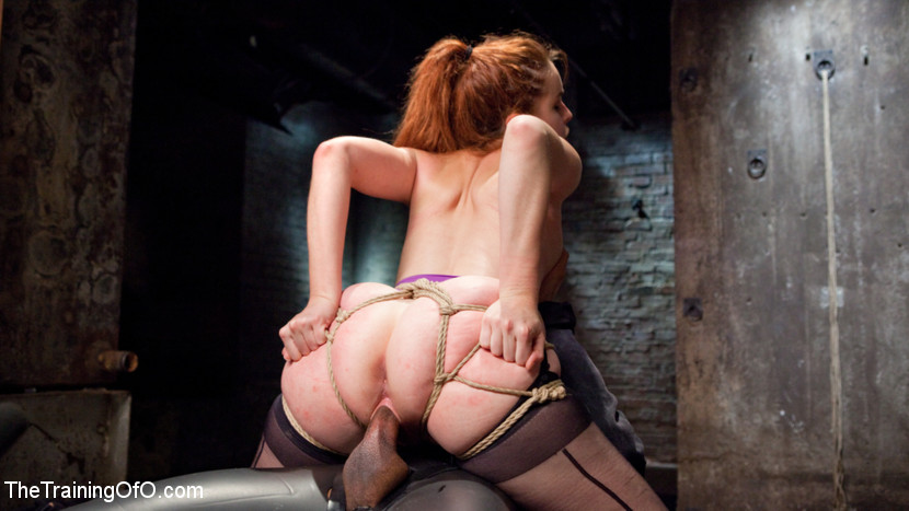 Bondage Sex Xxx Sexy Spanish Sub Girl Amarna Miller Is Tested For Hard Face Fucking Tied Up Ass Bdsm Black And White Photo Display