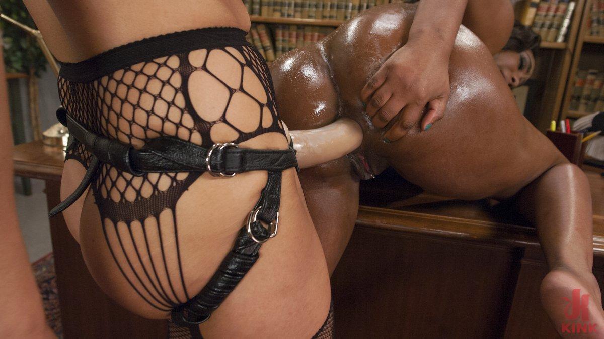 ebony anal butt