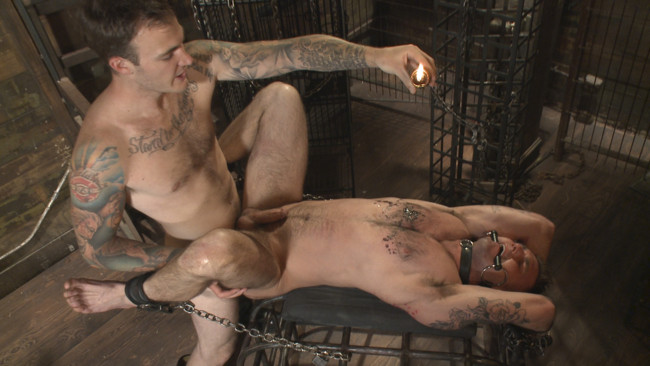 Bound Gods - Christian Wilde - Chris Harder - Slave #401 submits his entire body to the whims of Mr. Wilde #10