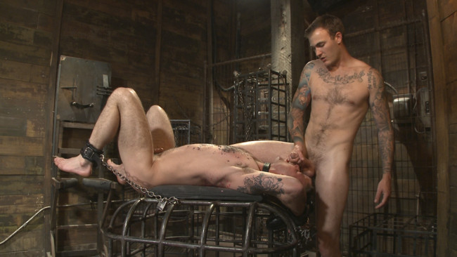 Bound Gods - Christian Wilde - Chris Harder - Slave #401 submits his entire body to the whims of Mr. Wilde #7