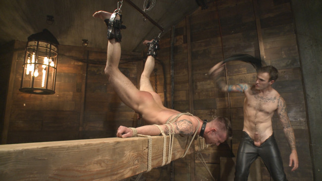 Bound Gods - Christian Wilde - Chris Harder - Slave #401 submits his entire body to the whims of Mr. Wilde #8