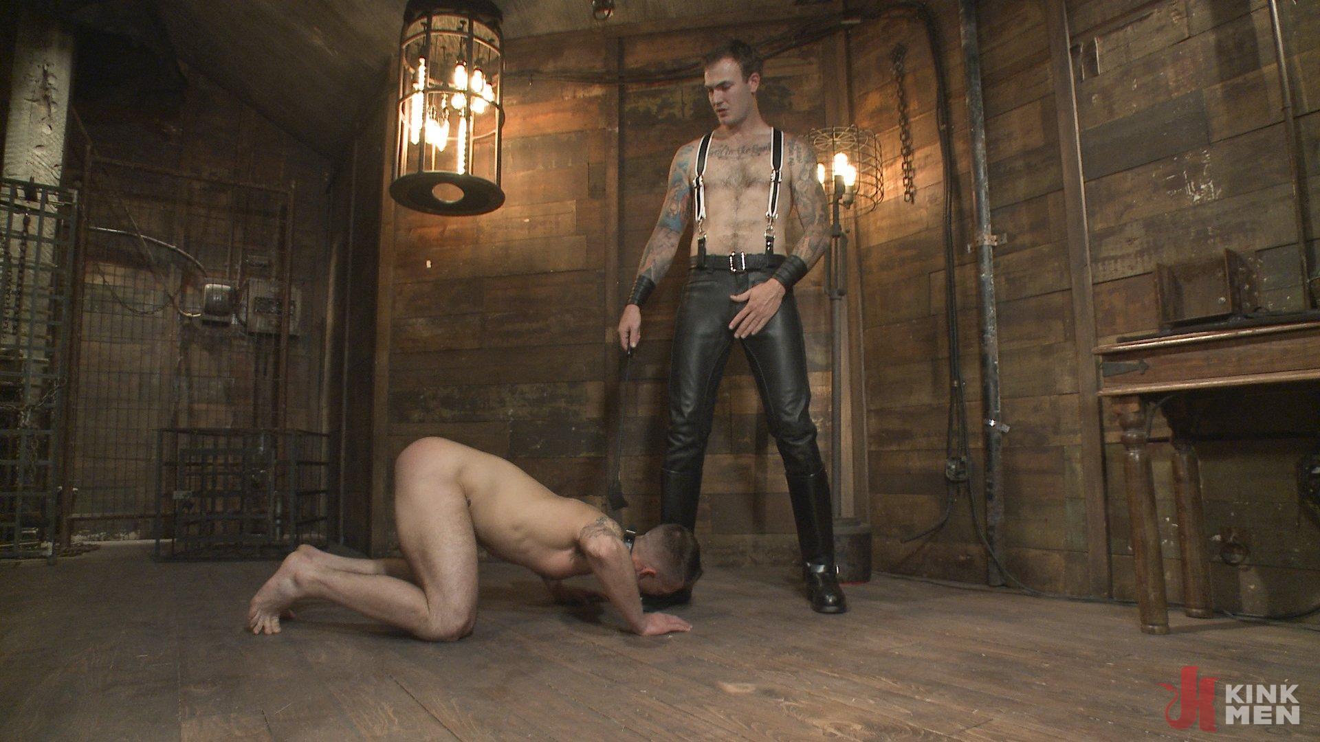 That's Master slave leather men
