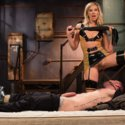 Maitresse Madeline gives this meaty, cock-sure hunk of dick a lesson from the Divine Bitches in deep anal