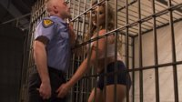 Officer Moreau has been lusting after gorgeous, busty inmate Lana Knight, and she gives him the hard fucking, spanking, and mouthful of cum he needs!