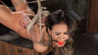 The long anticipated return of Nadia Styles proves to be worth the wait. Brutal bondage, extreme suffering, and mind blowing orgasms.