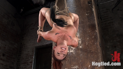 Chanel Preston Returns to Hogtied!!