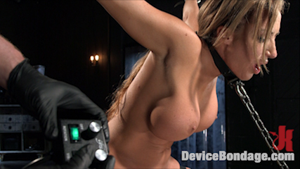 Slut begs to cumshot in bondage. Considerable tits, voluminous ass, tight vagina, great bondage, flogging, vagina fuck and a sybian ride make this one hell of an update.