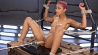 Hot as fuck, Skin Diamond gets fucked hard then put in bondage for squirting orgasms!!