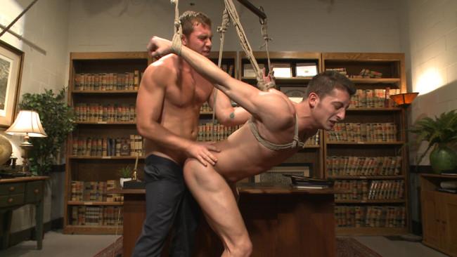 Bound Gods - Connor Maguire - Drake Tyler - Hot Mormon Jock Fucked in Bondage to Prove His Devotion to the Church #12