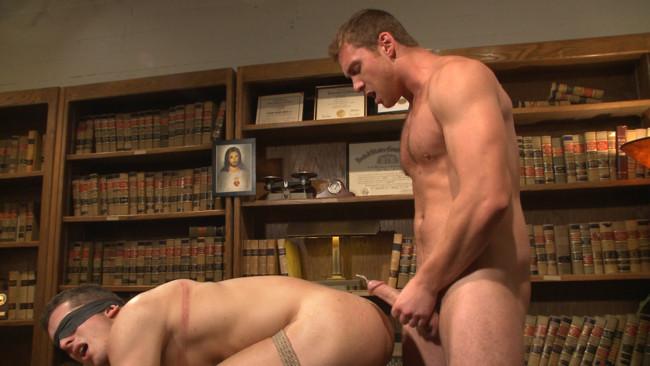 Bound Gods - Connor Maguire - Drake Tyler - Hot Mormon Jock Fucked in Bondage to Prove His Devotion to the Church #9