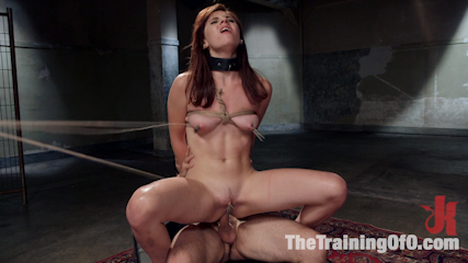 Ass slave training audrey holiday. Audrey Holiday hardcore booty bondage slave gets fucked, suspended, gagged, drools, brutal nipple clamping, flogging, hard, deep fucking.