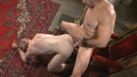 Cassius learns how to truly serve his Master, taking CBT, wax, brutal floggings and crucifixion.