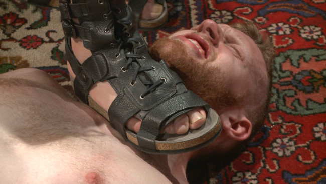 Bound Gods - Cass Bolton - Trenton Ducati - Roman slave offers his entire body to the whims of his cruel Dominus #1
