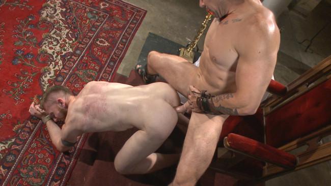 Bound Gods - Cass Bolton - Trenton Ducati - Roman slave offers his entire body to the whims of his cruel Dominus #13