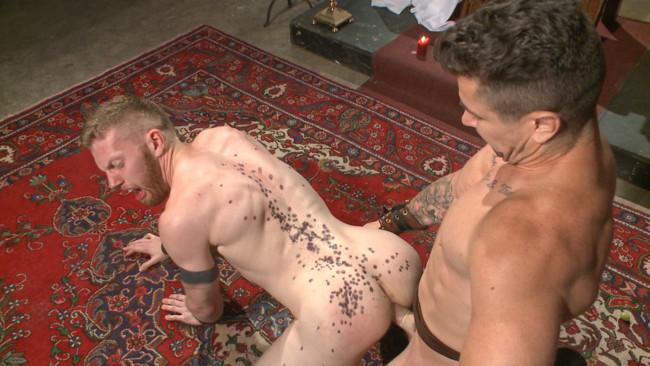 Bound Gods - Cass Bolton - Trenton Ducati - Roman slave offers his entire body to the whims of his cruel Dominus #6