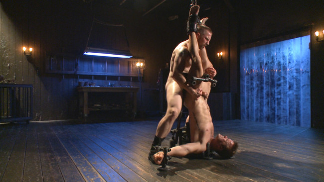 Bound Gods - Adam Herst - Connor Patricks - Tormented Without Mercy - Connor Patricks suffers tight metal bondage #6