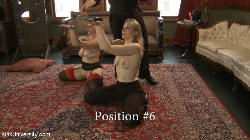 Ass position sexual traning man