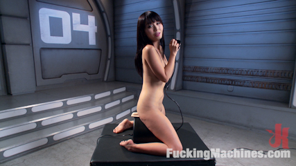 Asian bombshell first timer on have sex machines. Marica Hase gets her first taste of fuck machines, and now she wants more!!