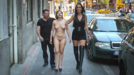 Fetish-Liza-and-John-Strong-humiliate-Fuck-Doll-Chiara-in-Budapest