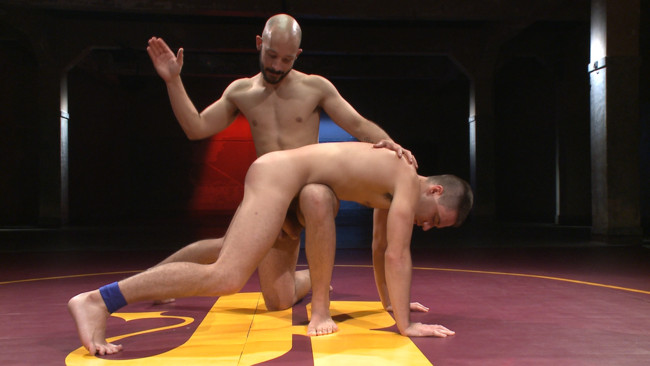 Naked Kombat - Dylan Strokes - Dylan Knight - Knight vs Strokes - Battle of the Huge Cocks #4