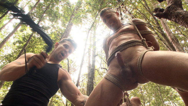 Bound Gods - Trenton Ducati - Tyler Rush - Mercilessly Fucked in the Woods & Buried Alive #15