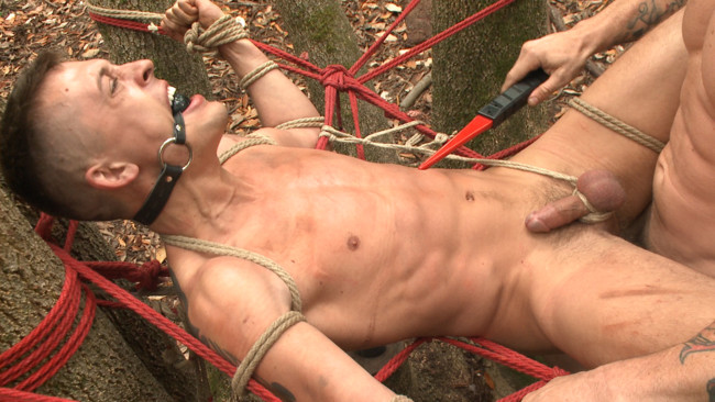 Bound Gods - Trenton Ducati - Tyler Rush - Mercilessly Fucked in the Woods & Buried Alive #3