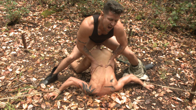 Bound Gods - Trenton Ducati - Tyler Rush - Mercilessly Fucked in the Woods & Buried Alive #4