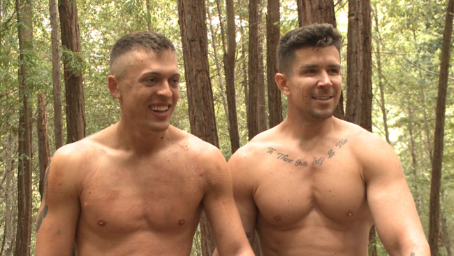 Bound Gods - Trenton Ducati - Tyler Rush - Mercilessly Fucked in the Woods & Buried Alive #9