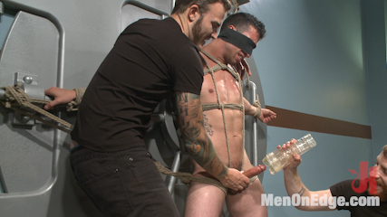 Botched bank robbery turns into edging torture for the hot bank teller. A botched robbery turns to a night of edging torture for a helpless bank teller