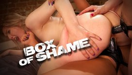 Box-of-Shame-Kinky-Lesbian-Strap-on-Double-Penetration