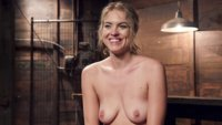 Dirty little slut Kiera Nicole learns to obey. She sucks and fucks a huge cock, while in hardcore bondage.