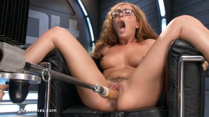 Fast-action-fucking-machines, giant dildos, and relentless Sybian's devour Roxanne Rae's hot body and perfect pussy!!
