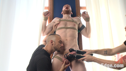 Cass Bolton – Muscled stud with huge balls gets the edging of his life