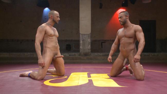 Naked Kombat - Micah Brandt - Jessie Colter - Jessie Colter vs Micah Brandt - Loser gets showered in piss! #1