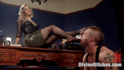 The Divine Bitches Corporation Office Slave