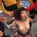 [HardcoreGangbang] Star Trek: The Next Penetration - First Gangbang & Double Penetration!