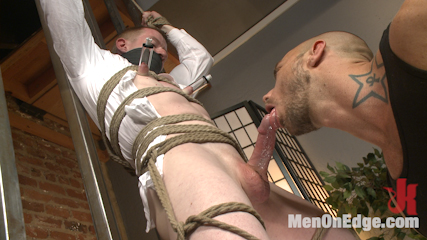 Mormon Missionary takes two dildos in his innocent ass