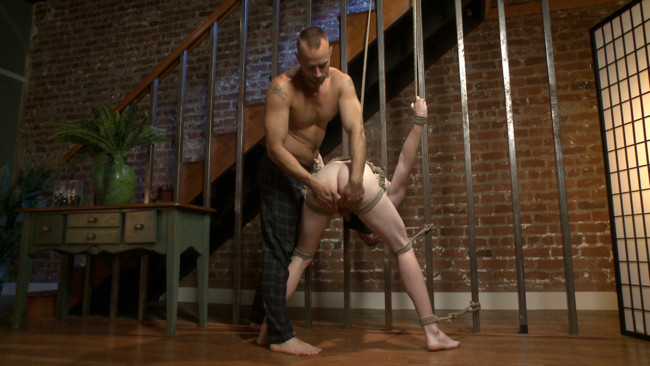 Bound Gods - Jessie Colter - Jack Redmond - Bound missionary gets split wide open with double fisting & sounding #2
