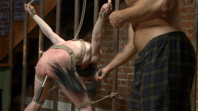 Bound Gods - Jessie Colter - Jack Redmond - Bound missionary gets split wide open with double fisting & sounding #12