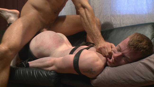 Bound Gods - Jessie Colter - Jack Redmond - Bound missionary gets split wide open with double fisting & sounding #3