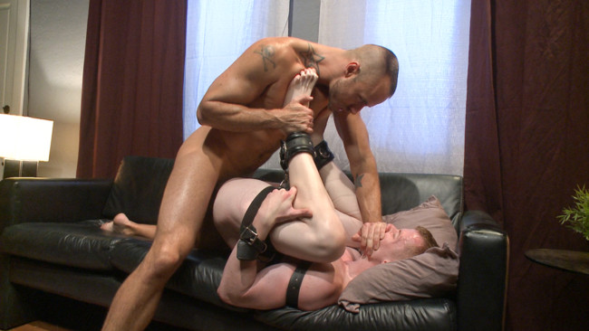 Bound Gods - Jessie Colter - Jack Redmond - Bound missionary gets split wide open with double fisting & sounding #8