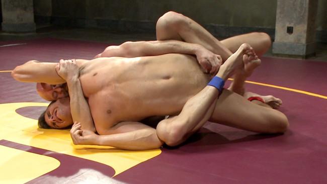 Naked Kombat - Mitch Vaughn - BJ Adia - Mitch Vaughn vs BJ Adia #1