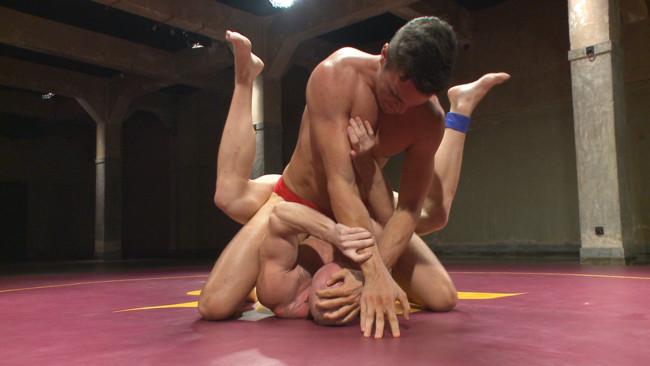 Naked Kombat - Mitch Vaughn - BJ Adia - Mitch Vaughn vs BJ Adia #2