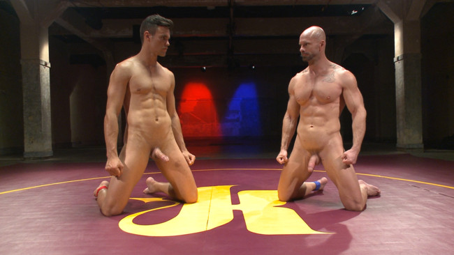 Naked Kombat - Mitch Vaughn - BJ Adia - Mitch Vaughn vs BJ Adia #4
