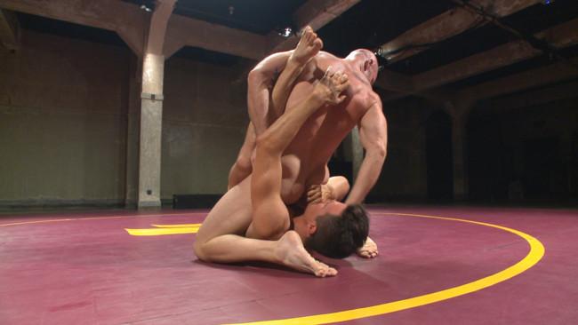 Naked Kombat - Mitch Vaughn - BJ Adia - Mitch Vaughn vs BJ Adia #5