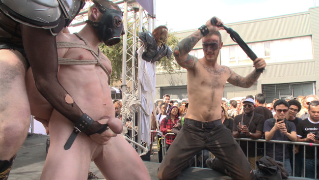 Bound in Public - Christian Wilde - Jessie Colter - Cass Bolton - Cass Bolton is a Folsom Street Fair Whore #1